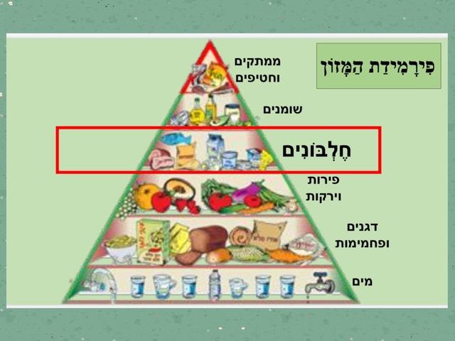 פירמידת המזון by לירוז קוסקס