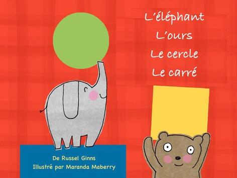 L'éléphant, l'ours, le cercle et le carré by The Learning Company