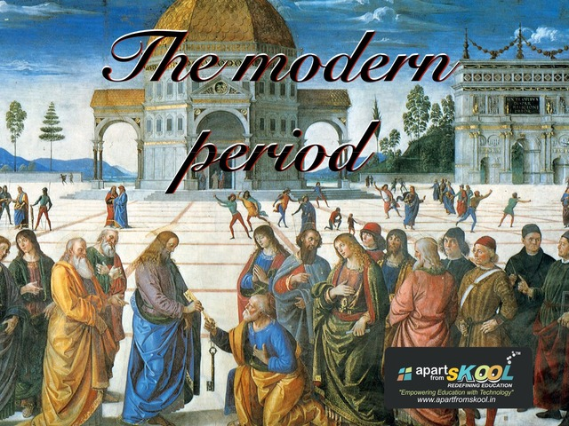 The Modern Period  by TinyTap creator