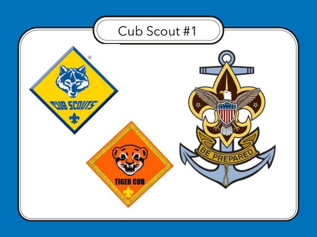 Cub Scout #1 by Carol Smith