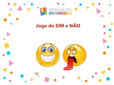 JOGO DO ARTHUR SIM E NÃO by Manual da Brincadeira
