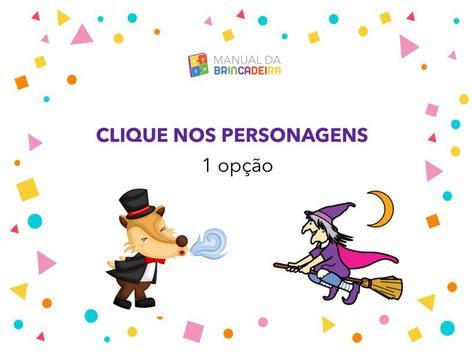 Personagens - Coordenação Motora by Manual Da Brincadeira Miryam Pelosi