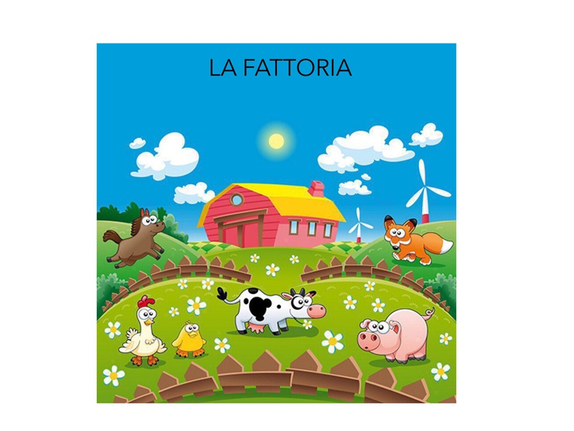 A Farm Puzzle by Alessandra