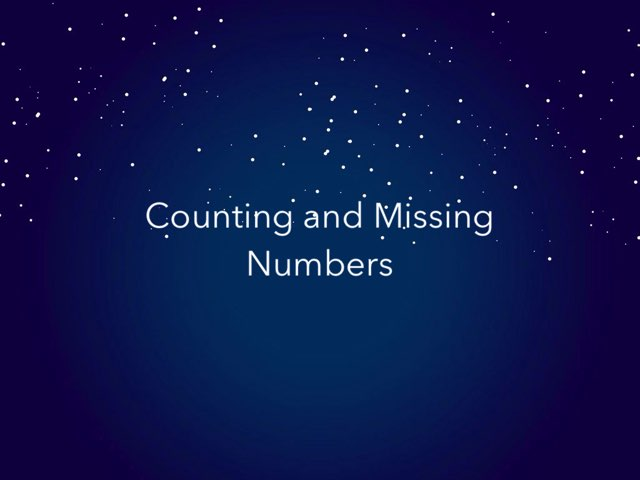 Counting and Missing Numbers by Kimberly Lamoureux