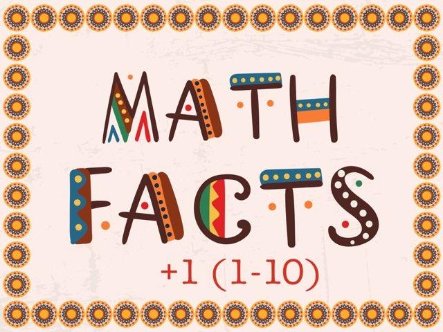 Math Facts +1 (1-10) by Jennifer