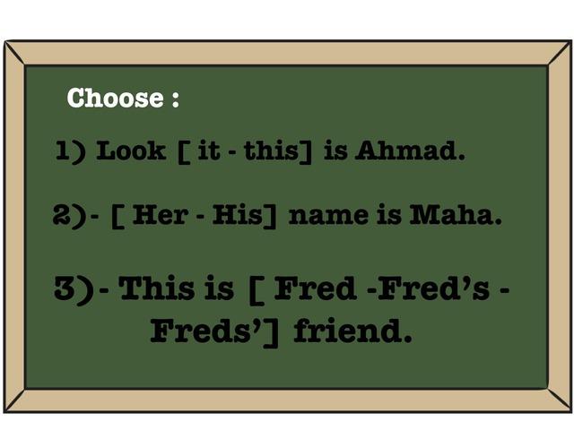Choose  by Jojo 511