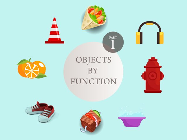 Objects By Function by Claire Sunderland