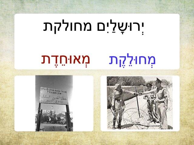 יום ירושלים by מכללה תלפיות