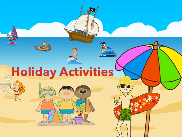 Holiday Activities by Laura Castro