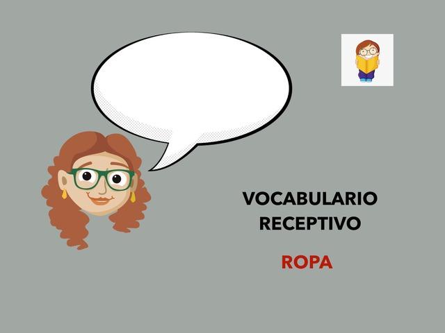 Vocabulario receptivo. Ropa by Francisca Sánchez Martínez