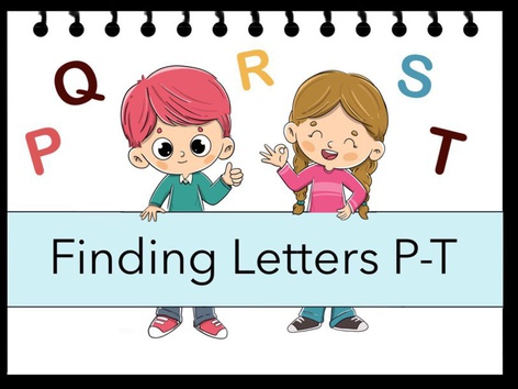 Finding Letters P-T by Cici Lampe