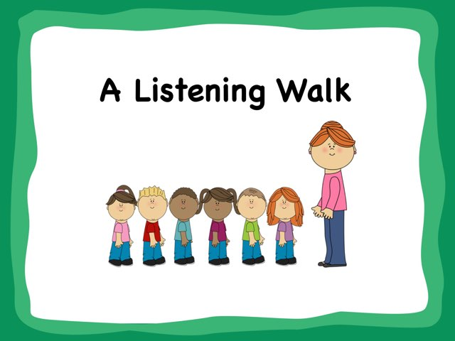 A Listening Walk by A. DePasquale