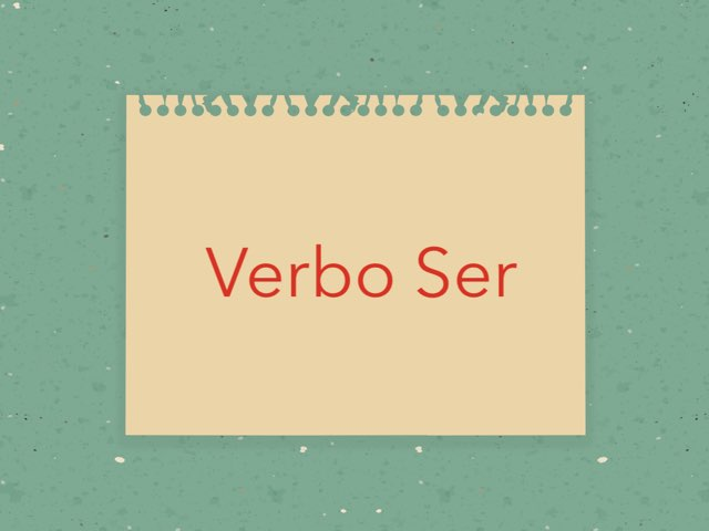 Verbo Ser by Toñi Arteaga Lucas