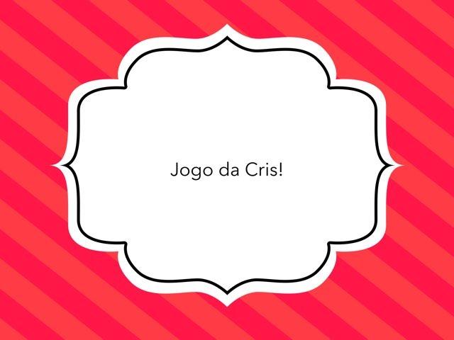 Jogo Teste by Cristina Martins