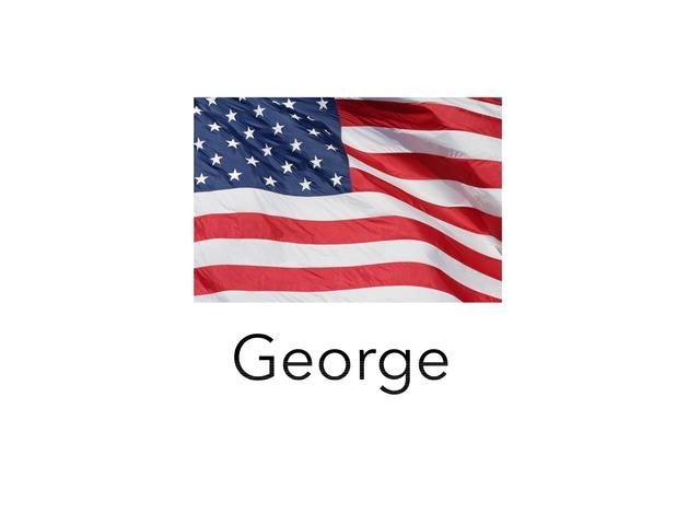 George Washington by Aiden Borlongan