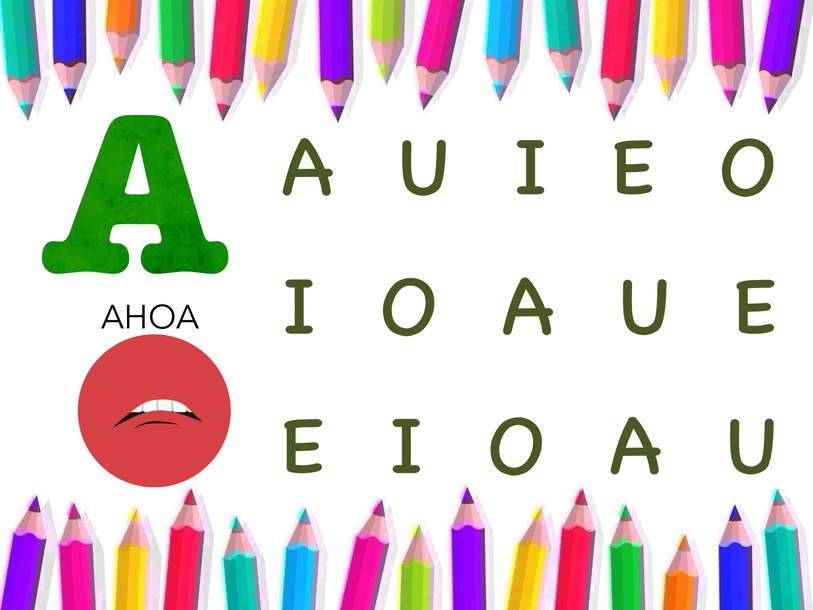 AEIOU by Maria ortega garcia