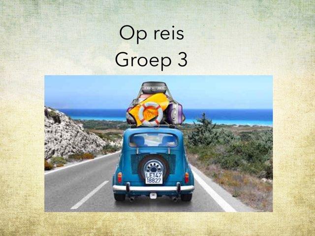 Op reis groep 3 by Wieke Jasper