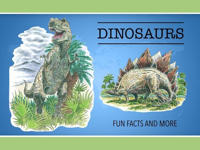 Dinosaurs by Cici Lampe