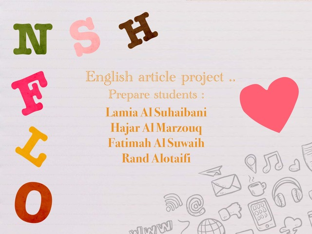 Engilsh  by Fto A