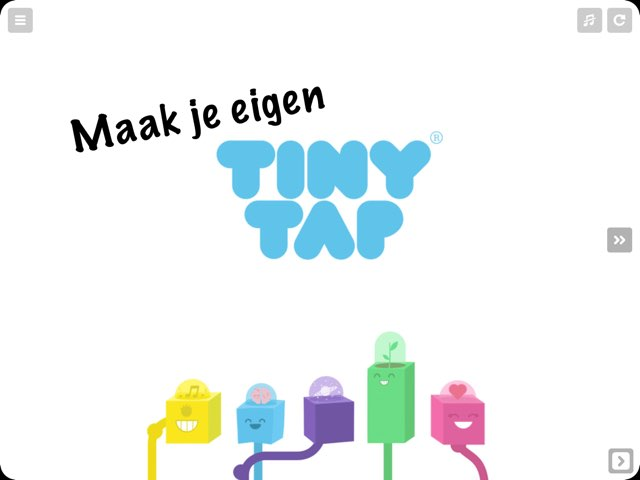 Maak je eigen TinyTap  by Corine Noordink