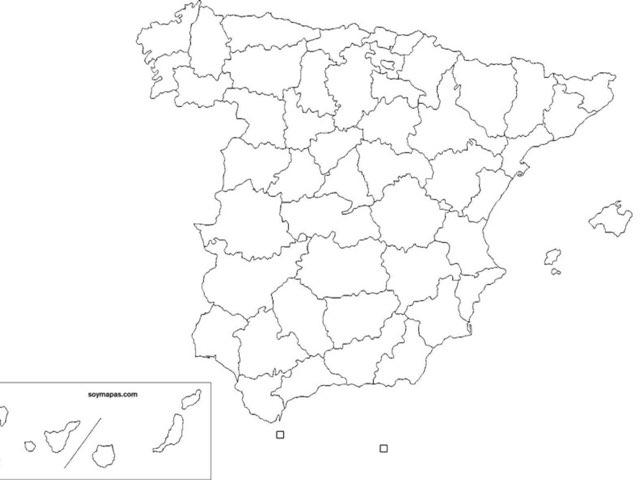 Relieve, Ríos, Parques Naturales, Localidades Y Provincias by Ignacio Martín