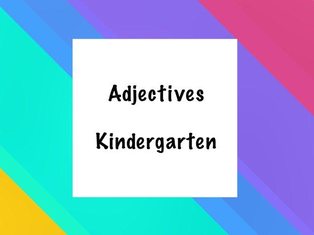 Adjectives-K by EM bolton