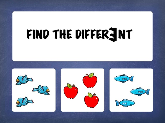 Find The Different  by Hadi  Oyna