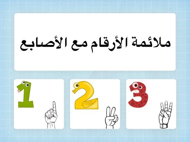 ملائمة الأرقام مع الأصابع by Hadi  Oyna