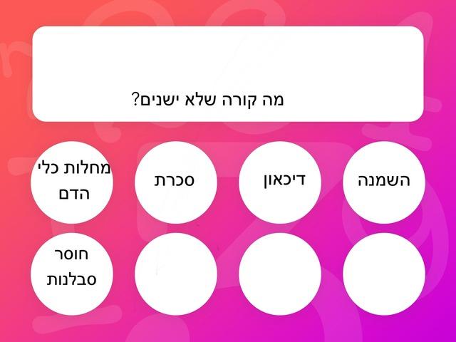 אורח חיים בריא אביב וליאור by בית ספר קישון