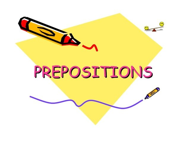 Prepositions by Lubna Asalieh