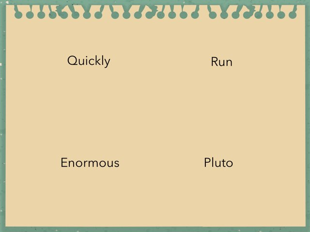 Parts Of Speech Game by Suzanne Shannon