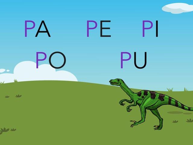 El Dinosaurio De La P by Cristina Carazo