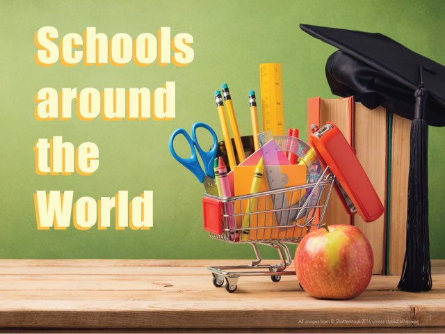 Schools Around The World  by Lily Lamb