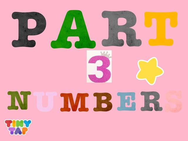 PART 3 Numbers 1-9 by Riham  Marwan
