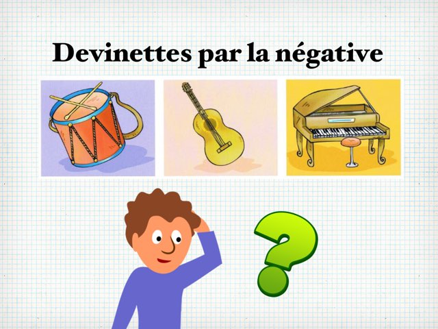 Devinettes Par La Négative  by Seve Haudebourg