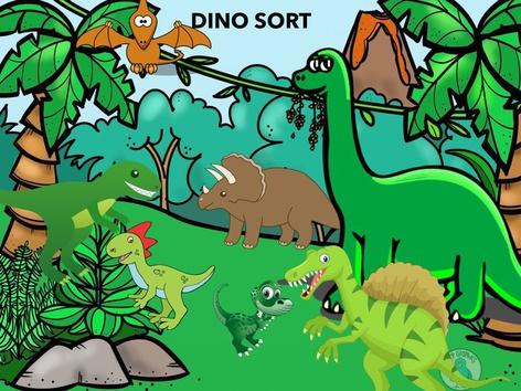 Dino Sort by Colleen Ziegelbein