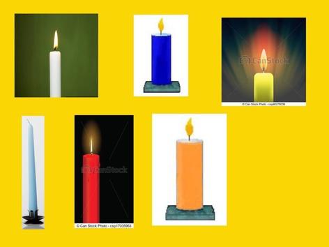 נרות עם ברכות by בית ספר אגם