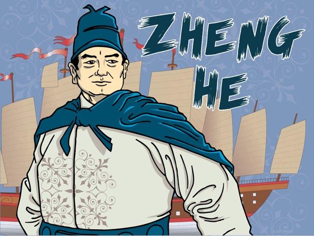 Zheng He  by Lauren Codling