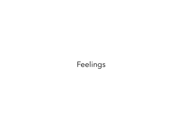 Feelings by Sophia Benito