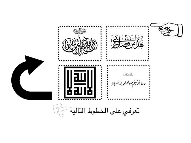 انواع الخط العربي by سماح الحامد