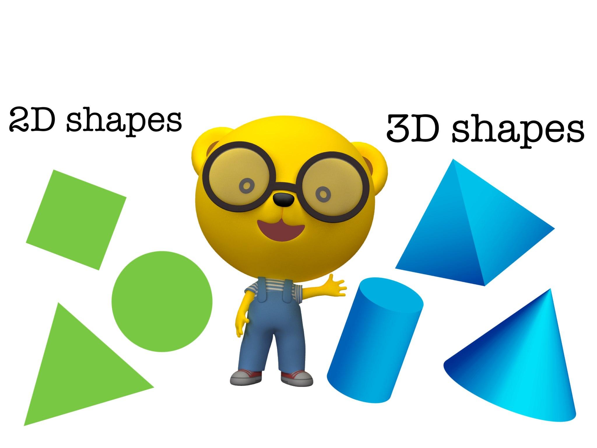 3D Shapes - Kindergarten by Heidi Bosco - Educational Games