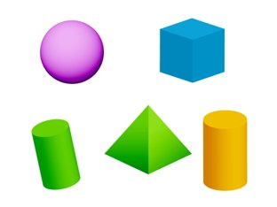 3D Shapes by Laura Stewart