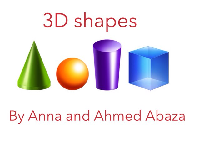 3D Shapes by Y5 RA