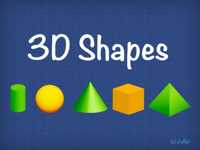 3D Shapes by Juffer Juffrou