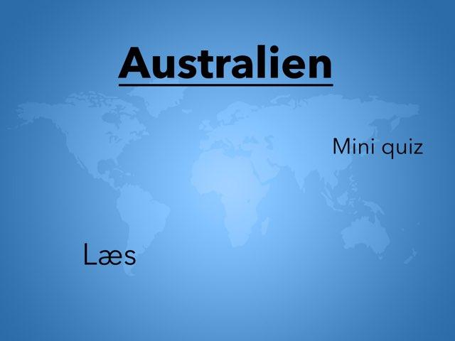 Australien by Elev Skibet
