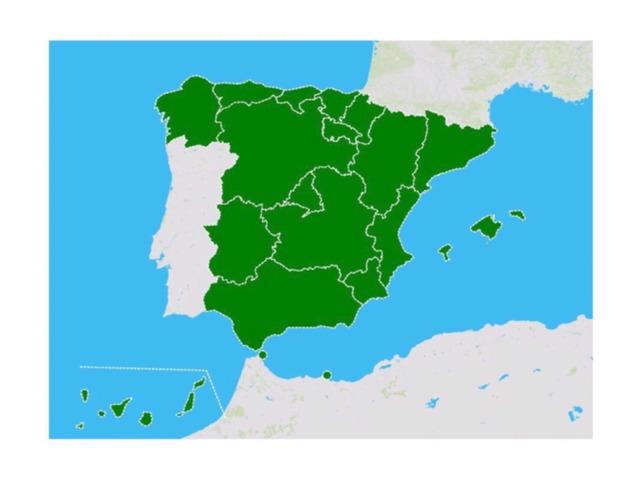 Comunidades Autónomas. by Natalia Lopez Mullen