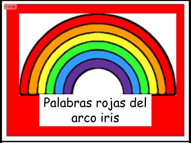 Red Words / Palabras Rojas by Rosalva Correa