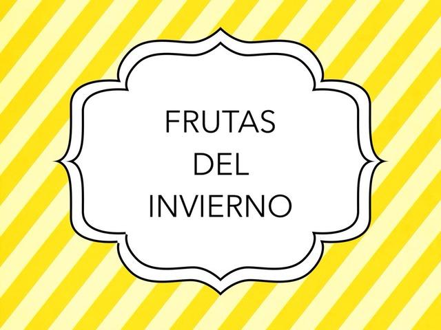 FRUTAS Y VERDURAS DE INVIERNO by Maria Garcia