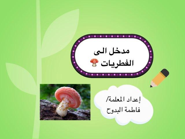 مدخل الى الفطريات  by ام رضا