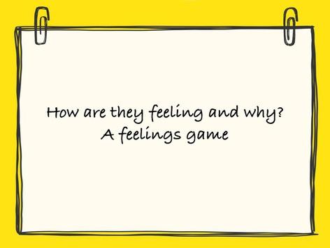Miss McCaskey's Feelings Game by Katie McCaskey
